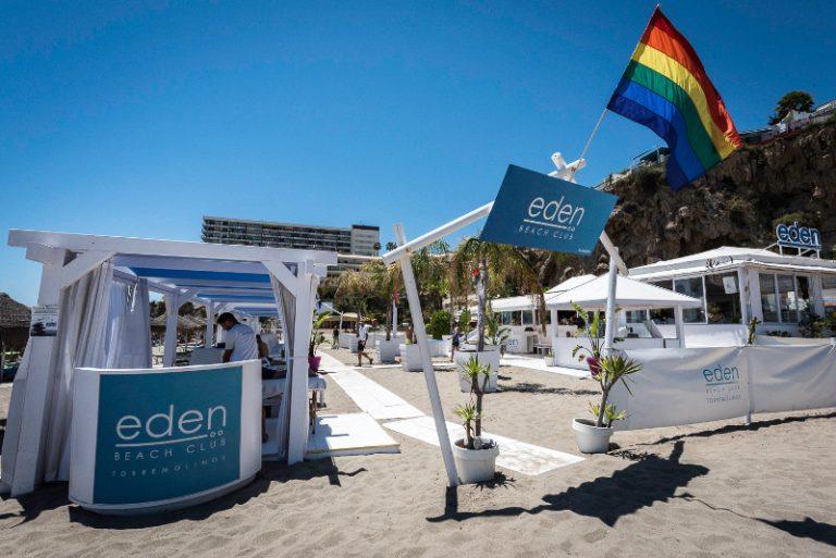 Hotel Eden en Bajondillo playa LGTBI Torremolinos