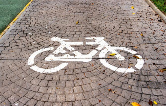 carril bici en torremolinos