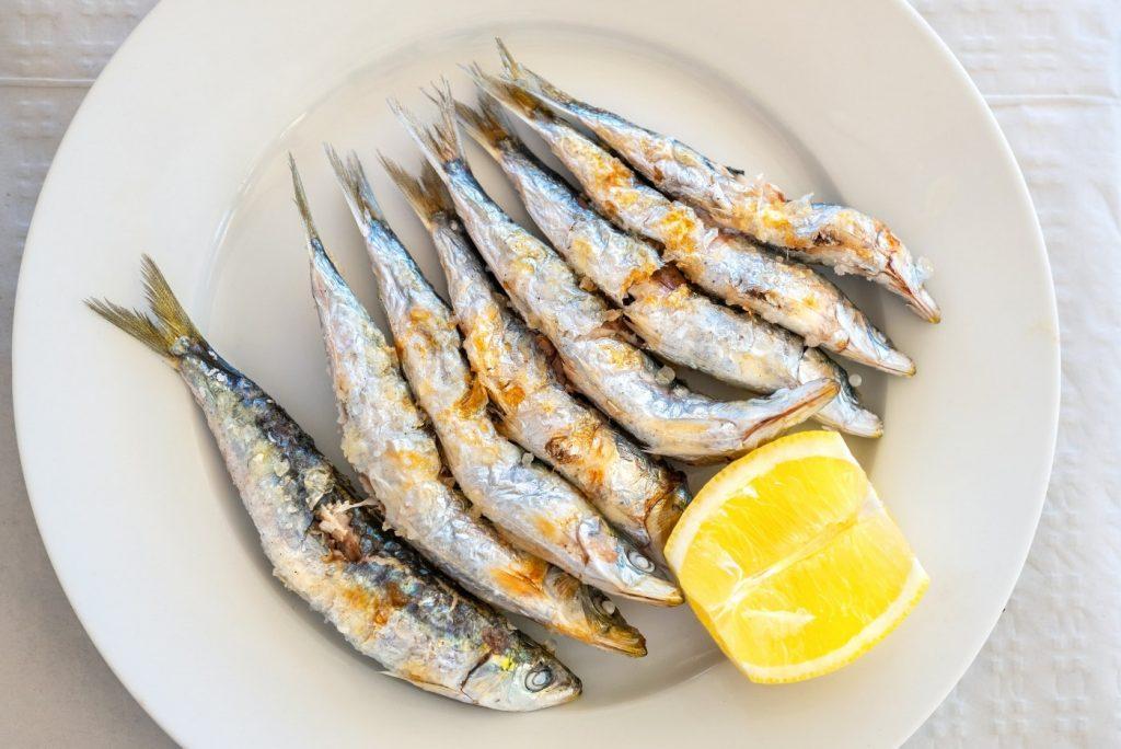 PLaya del Bajondillo en Torremolinos comer